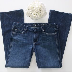 """7 For All Mankind """"A Pocket"""" Jeans, size 30"""